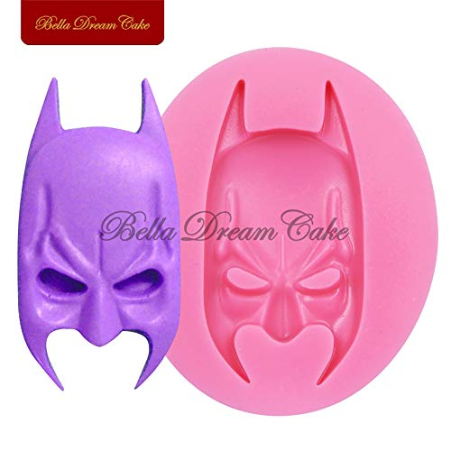 1 piece Cartoon Mask Cake Silicone Decorating Mold Sugarcraft Silicone Mold Chocolate Tools Halloween Silicone Embossing Mould SM-243