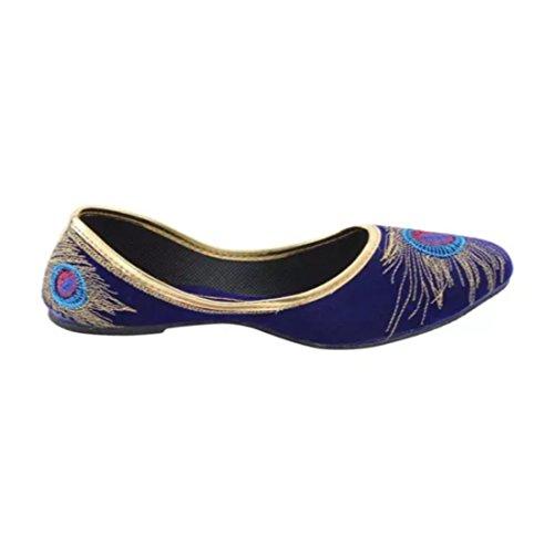Mart Blue Sunlife Blu Ballerine Donna TdqqwAv8