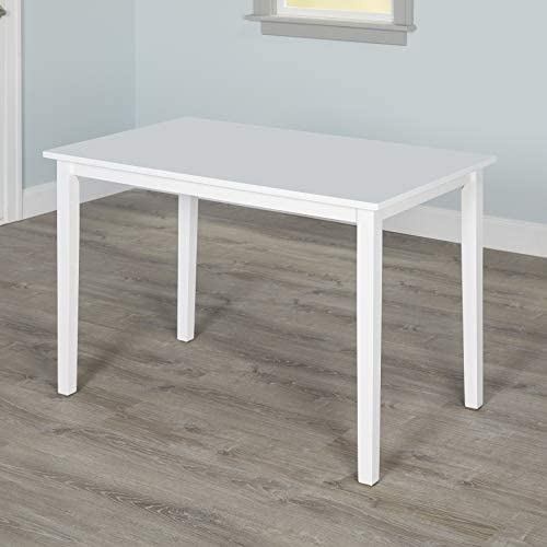 Target Marketing Systems The Shaker Collection Contemporary Style Wood Kitchen Dining Table