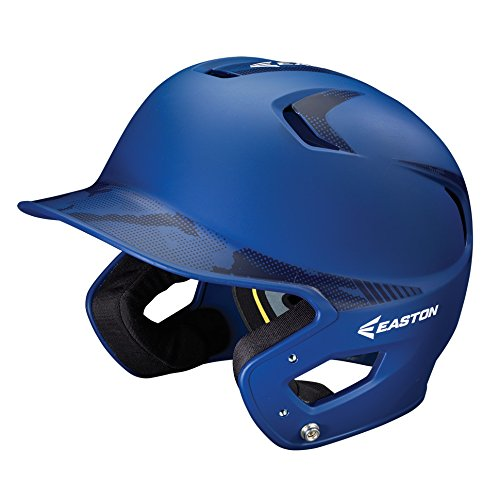 Easton Senior Z5 2 Tone Basecamp Batting Helmet, Royal (Senior Batting Helmet)
