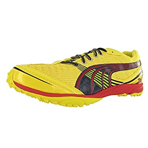 Puma Men's Complete Haraka XCS Running Shoe,Dandelion/Dark Shadow/High Risk Red,7 D(M) US