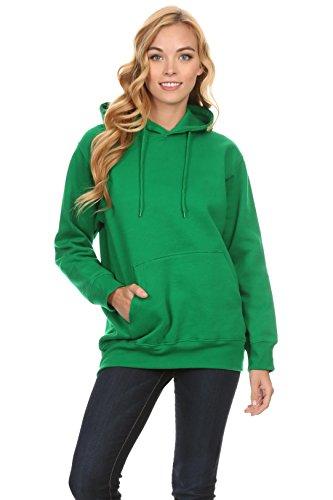 Green Hoody Sweatshirt - 6