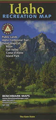 Idaho Map - Idaho Recreation Map