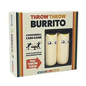 Throw Throw Burrito by Exploding Kittens - A Dodgeball Card Game - Family-Friendly Party Games - Card Games for Adults… 8