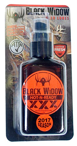 (2017 Season) Black Widow Hot-N-Ready XXX Southern Whitetail Doe Estrus - 3 oz