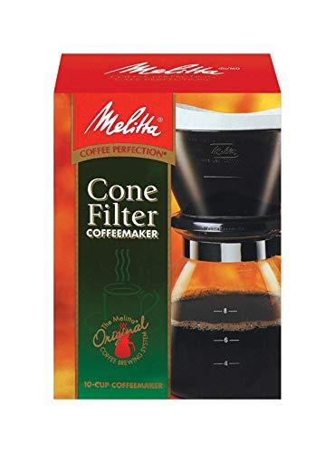 Melitta 640616 10 Cup Black Coffee Maker