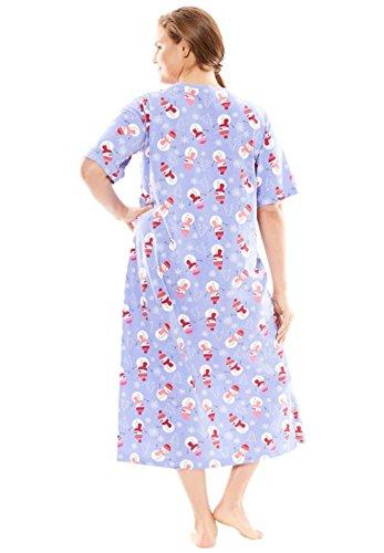 Dreams & Co. Women's Plus Size Long Print Sleepshirt