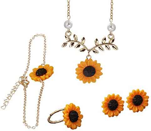 0bb9b8d032cc2 Shopping Greens or Golds - Floral - Jewelry Sets - Jewelry - Women ...