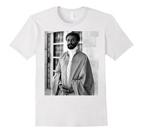 Mens Ethiopian Emperor Haile Selassie Face Portrait for sale  Delivered anywhere in USA