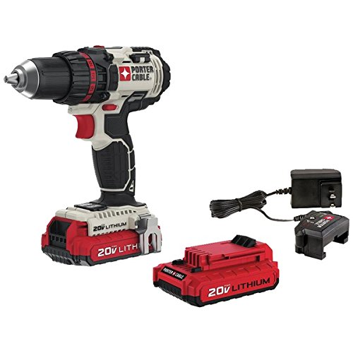 "Porter Cable PCC600LB 20V Max 1/2"" Lithium Ion Drill/Driver"