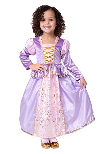 Little Adventures Classic Rapunzel Princess Dress Up Costume (Large Age 5-7) -