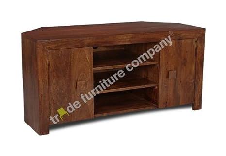 Trade Furniture Company Dakota mobili in legno ad angolo per TV ...