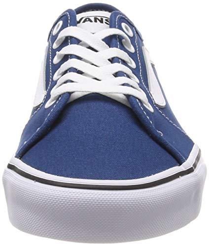 Hombre Azul Vans Filmore canvas Sailor white Decon Blue Zapatillas Vfh Para ngIqwaXq