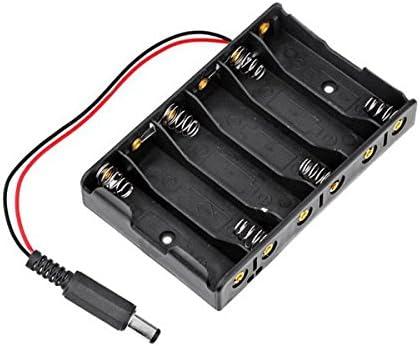 Generic - Caja de Almacenamiento de batería para Arduino (10 Unidades, 6 Pilas AA, DC2.1): Amazon.es: Electrónica