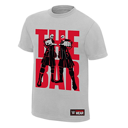 WWE Sheamus & CesaroThe Bar Authentic T-Shirt Silver 2XL by WWE Authentic Wear