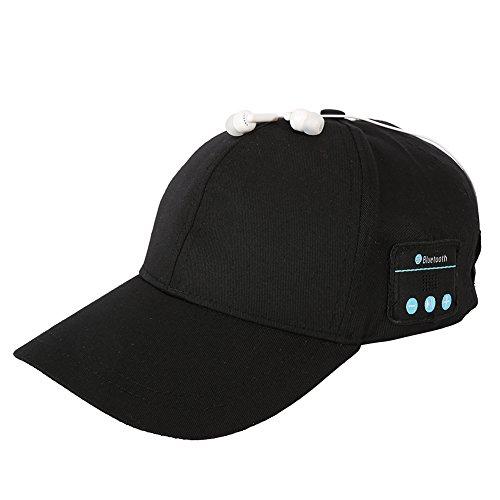 Jlong Baseball Hat Wireless Bluetooth Headset Headphone Speaker Mic Cap