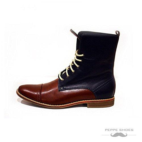 Modello Fiorentina - main Colorful italiennes en cuir Shoes Chaussures Casual Formal Unique Vintage premium Bottes lacŽes Hommes Hauts