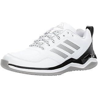 adidas Men's Speed Trainer 3 SL Cross, White/Metallic Silver/Black, 10 Medium US