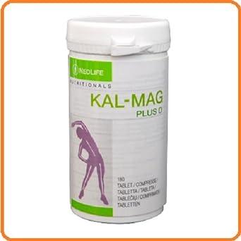 neolife – Kal Mag Plus (180 caps. Calcio y Magnesio altamente biodisponibili, más