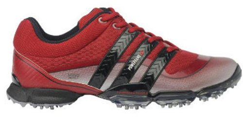 Adidas Powerband 3.0 S Mens Golf Shoes (Unired/Metsil/Unired) 10 Medium