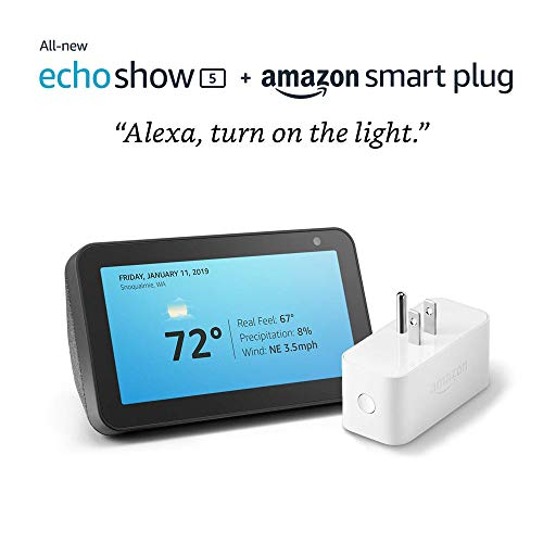 Echo Show 5 with Amazon Smart Plug Only $49.99