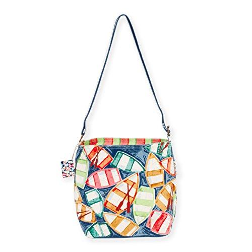Paul Brent Rowboat Reflection Crossbody Handbag One Size Multi