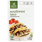 Simply Organic Southwest Taco Seasoning, Certified Organic | 1.13 oz | Pack of 12