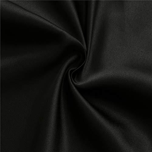 Dainzuy Sexy Women's Silk Tank Top Spaghetti Straps Camisole Silky Loose Sleeveless Blouse Elegant Cowls Tank Shirt Black by Dainzuy Women Tops (Image #4)