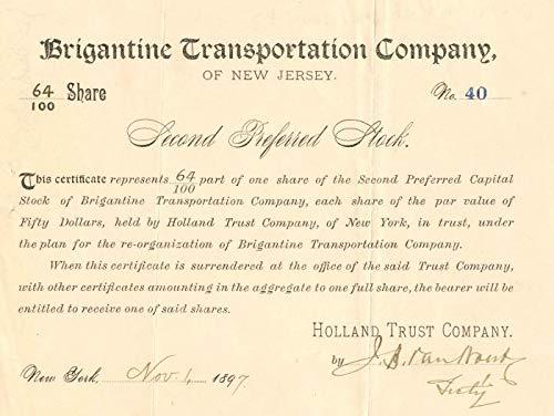 Brigantine Transportation Company of New Jersey