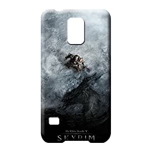 samsung galaxy s5 phone back shell Personal Brand Protective skyrim dragon shout