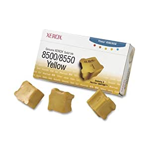 Xerox 108R00671 Solid Ink Cartridge (Yellow) - 3ct