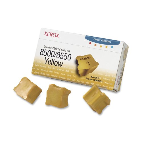 Xerox 108R00671 Solid Ink Cartridge (Yellow) - 3ct