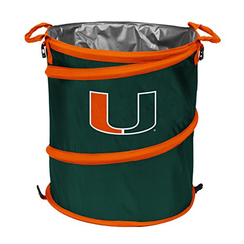 University of Miami Hurricanes Collapsible Trash Can Cooler ()