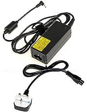 محول / شاحن 19 فولت - 2،1 امبير لجهاز بي سي اسوس EEE نت بوك، لابتوب، نوت بوك - رأس بقياس 2،5 × 0،7