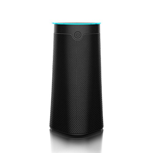 ACEMAX HF30 Far Field Voice Control Amazon Alexa Speaker, Smart Wifi Bluetooth Wireless Multiroom Music Playing, Portable with Build in Rechargeable Battery, Alexa Anywhere, Anytime,10W Output (Black)