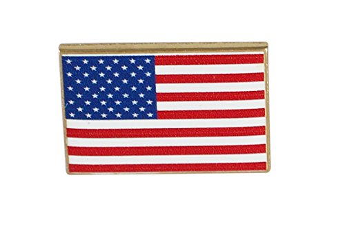 USA Flag Pin-- Made in America (Dimensionally Printed)