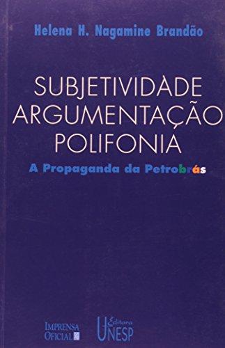 subjetividade-argumentacao-polifonia-a-propaganda-da-petrobras-prismas-portuguese-edition