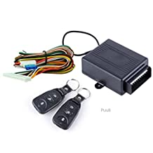 Keyless Entry System Universal Car Kit Remote Control Central Door Lock Locking