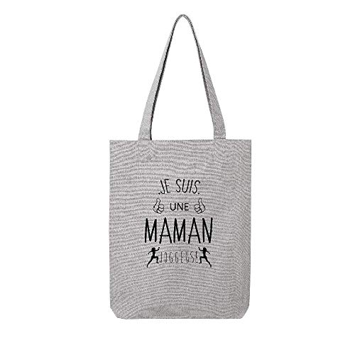 Tote Gris Lookmykase Joggeuse Tissus Lmk Maman dXqxPFw