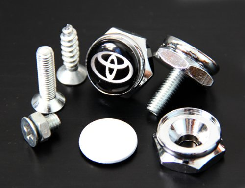 Toyota License Plate Frame Bolts Screws (License Plate Frame Toyota compare prices)
