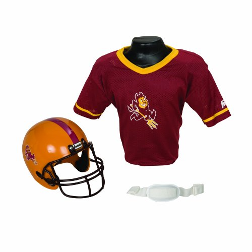 Franklin Sports NCAA Arizona State Sun Devils Helmet and Jersey Set