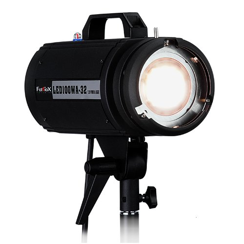 Fotodiox Pro LED100WA-32 Tungsten Studio LED, High-Intensity LED Studio Light for Still and Video - with Dimmable Control, 12V AC Power Adapter, Light Stand bracket, CRI > 85 by Fotodiox (Image #2)