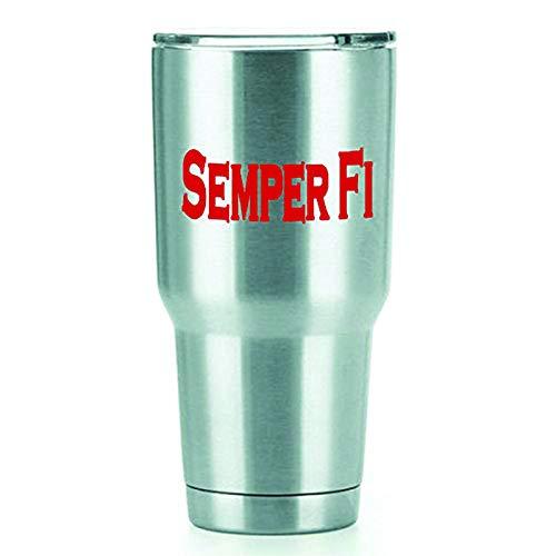 Semper Fi Tattoos - Semper FI Vinyl Decals Stickers (2