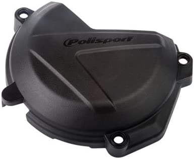 Polisport Clutch Cover Protection Black for KTM 250 EXC-F 2017-2018