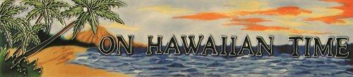 ON HAWAIIAN TIME – Decorative Ceramic Art Tile – 3 x16 En Vogue