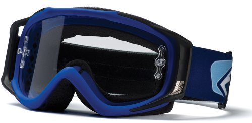Smith Optics Fuel V.2 Clear AFC Lens Goggle (Blue), Outdoor Stuffs