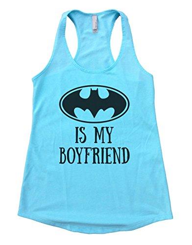 "Batman+tank+top Products : Womens Flowy Tank Top ""Batman Is My Boyfriend"" Batman Tank Top Gift"