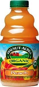 Walnut Acres Organic Juice, Peach, 32-Ounce Bottles (Pack of 3)