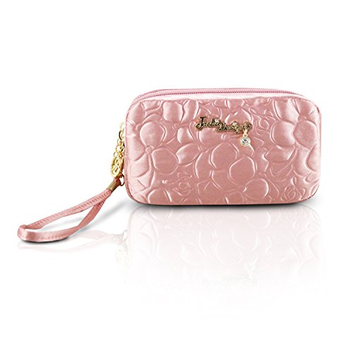 jacki-design-royal-blossom-collection-compact-cosmetic-organizer-with-wristlet-pink