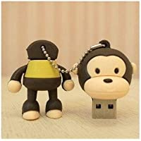 D-CLICK TM High Quality 32GB Cool Baby Monkey Shape USB High speed Flash Memory Stick Pen Drive Disk